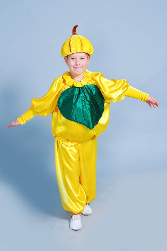 Костюм Тыквы (Гарбуза) для мальчика на прокат от ат-ателье Инфанта Карнавал