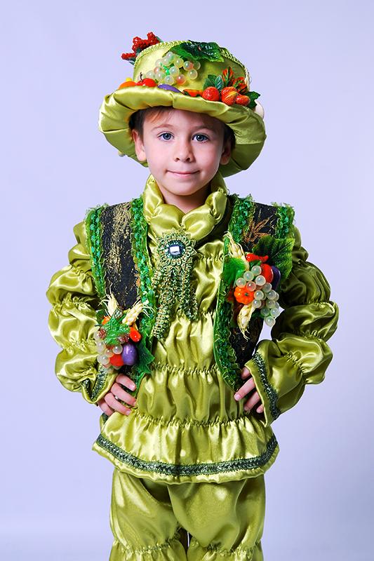 Костюм Урожай на прокат для мальчика для праздника осени