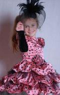 Костюм Стильная девчонка розовый в горошек; Артикул Ст16