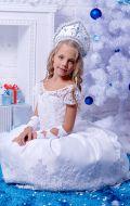 Костюм Снегурочка вышивка