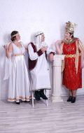 Костюмы Греческая богиня, Арабский шейх и Нефертити; Артикулы Гр12, АрШ1 и Гр8