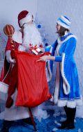Костюмы Дед Мороз и Снегурочка; Артикулы ДМ6 и Сг5