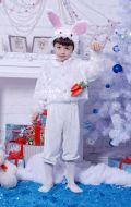 Костюм Новогодний Зайка; размеры от 92 см до 145 см