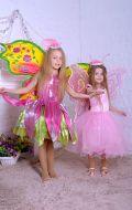Костюмы Флора и Бабочка нежно-розовая; Артикулы Ф15 и М46