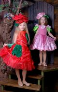 Костюмы Роза красная и Роза розовая; Артикулы СМ146 и Цв4