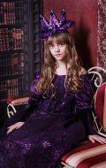 Костюм Придворная дама в фиолетовом; Артикул Пд53