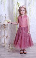 Бальное платье фрезовое блеск; Артикул СМ91/СМ92