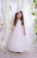 Бальное платье молочное; Артикул СМ8