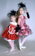 Бальные платья в горошек; Артикул Бк6 и Ст16