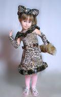 Костюм Леопардовый котенок; Артикул К10