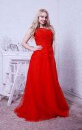 Выпускное платье красное расшитое NEW; Артикул Кв39