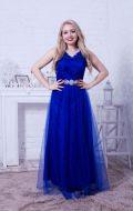 Выпускное платье синее NEW; Артикул Кв51