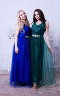 Платья для выпуска: синее и зеленое NEW; Артикулы Кв51 и Кв52
