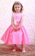 Платье бальное ярко розовое; Артикул М72