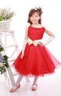 Платье бальное красное;Артикул М17