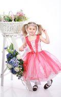 Платье бальное красно-белое; Артикур М52