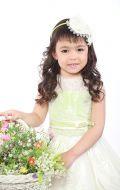 Платье бальное салатово-белое;Артикул СМ143