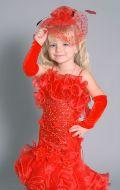Бальное платье красная рыбка;  Артикул М13