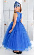 Костюм Волшебница синий фатин; Артикул Ф22