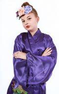 Костюм Кимоно фиолетовое; Артикул КМ1