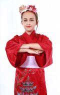 Кимоно вишневое; Артикул КД2