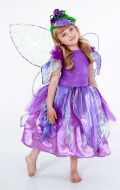 Костюм Бабочка фиолетовая - Цветочная Фея; Артикул Цв40