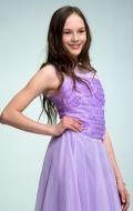 Платье бальное сиреневое; Артикул Б67