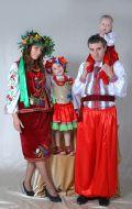 Украинские классические костюмы; Артикулы В.У3, Д.У27, М.У1 и В.У4