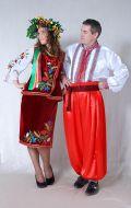 Украинские классические костюмы; Артикулы В.У3 и В.У4