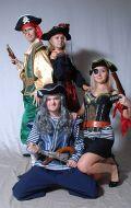 Костюмы Пираты-Разбойники; Артикулы Ох2, Рз4, Пр1 и Пр3+К1