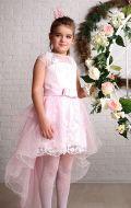 Платье бальное розовое со шлейфом; Артикулы Б69\Б70