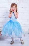Платье бальное голубые лепестки; Артикул М38