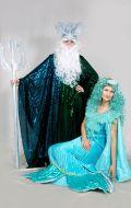 Костюмы Русалка и Морской Царь Нептун; Артикулы Н1 и Рс2