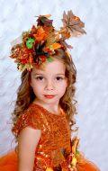 Костюм Мисс Осень (осенний лист)
