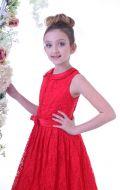 Платье бальное красное; Артикул Б53