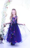 Платье бальное с бабочками; Артикул СМ233