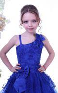 Платье бальное синее; Артикул СМ120