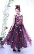 платье бальное с бабочками; Артикул СМ230