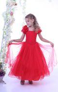 Платье бальное красное; Артикул СМ88