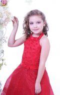 Платье бальное красное; Артикул К10