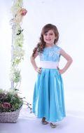 Платье бальное голубое; Артикул СМ127