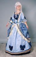 Костюм Елизавета синяя; Артикул Ел2