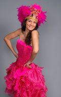 Костюм Бразилия розовая (Бразильский Карнавал); Артикул Б2