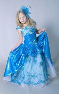 Бальное платье голубое; Артикул Пд27