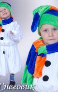 Костюм Снеговик; все размеры от 104см до 150см