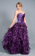 Платье Бальное божоле; Артикул Бд44