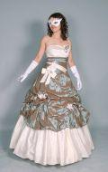 Платье Бальное серебристое; Артикул Бд31