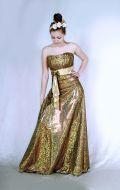 Платье Вечернее золотое; Артикул Ск5