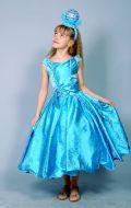 Костюм Бусинка голубая (платье парча); Артикул Пд81