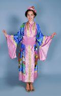 Костюм Кимоно сине-розовое; Артикул К2